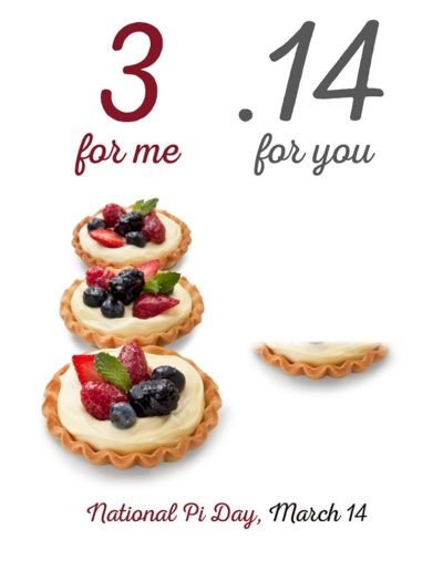 Fallon Ray Art Graphic Design Layout Illustration Poster Iron Man Sign Stanchion Food City National Pi Pie Day