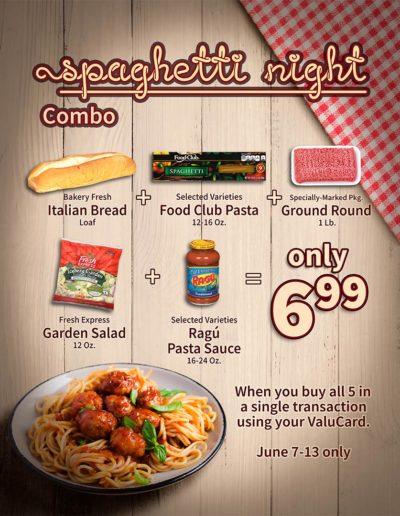 Fallon Ray Art Graphic Design Layout Illustration Poster Iron Man Sign Stanchion Food City Spaghetti Night Combo Sale